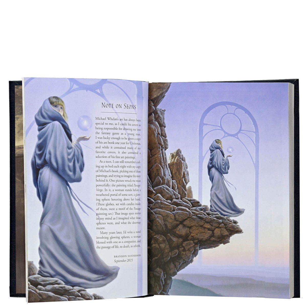 Dragonsteel - X Anniversary - Elantris - Arte Interior, Michael Whelan