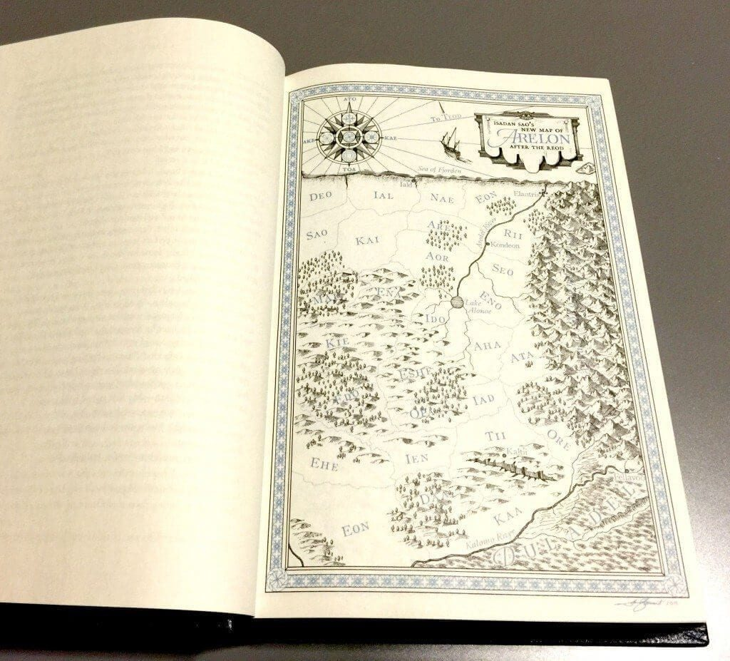 Dragonsteel - X Anniversary - Elantris - Mapa