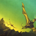 Dragonflight, por Michael Whelan