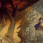 Ilustración terminada para la portada de Oathbringer, por Michael Whelan