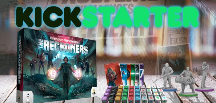 Lanzamiento en Kickstarter: The Reckoners, el juego de mesa