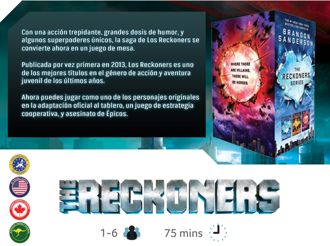 Nauvoo Games The Reckoners