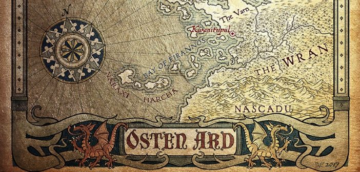 Mapas metalizados, actualizaciones (y hablemos de Tad Williams)