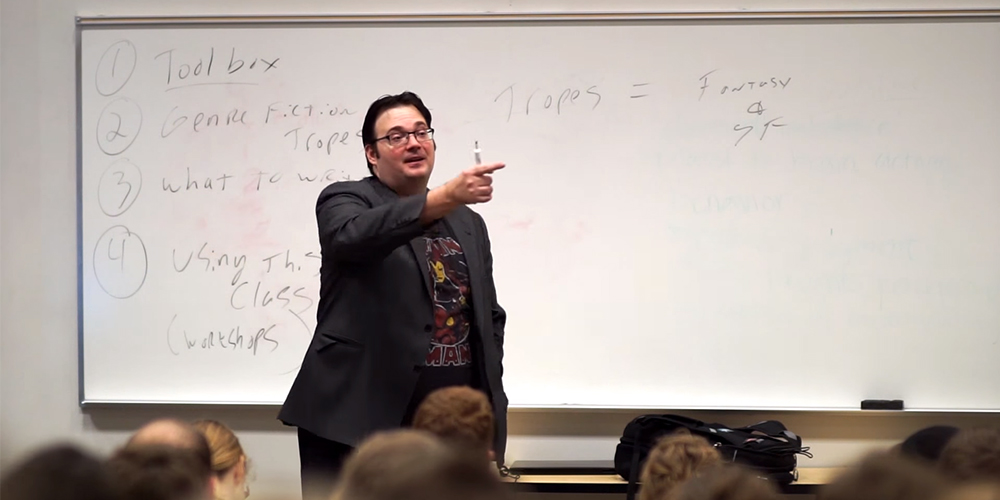 brandon sanderson classroom