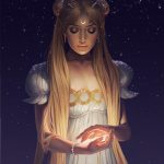 Sailor moon by Charlie Bowater