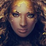 Stay gold by Charlie Bowater