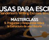 Excusas para Escribir: Preguntas y Respuestas sobre la Estructura de una Historia