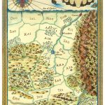 Map of Arelon by Isaac Stewart, for the 10th Anniversary edition.