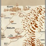 Map created by Brandon Sanderson and Jeff Creer