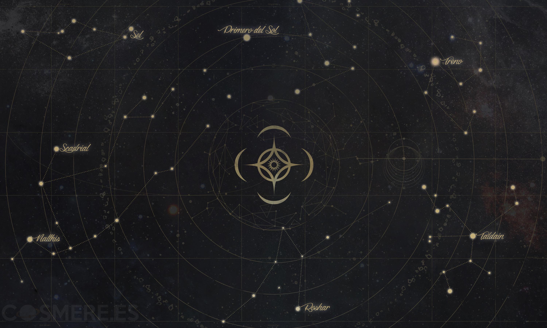 constelaciones cosmere sistemas planetas
