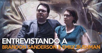 Entrevista con Brandon Sanderson y Emily Bushman
