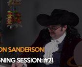 Brandon Sanderson Live Signing Session: #21